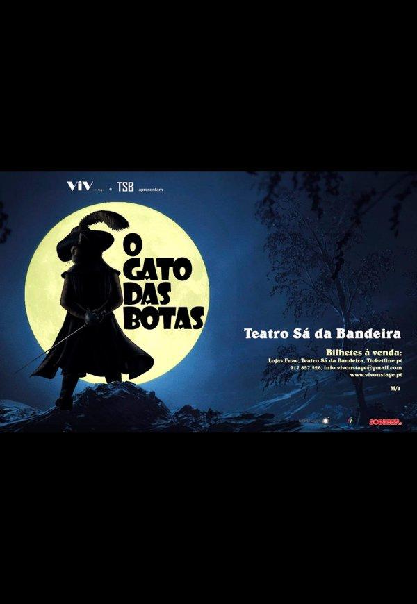 o gato das botas - o musical em cena no teatro sá da bandeira